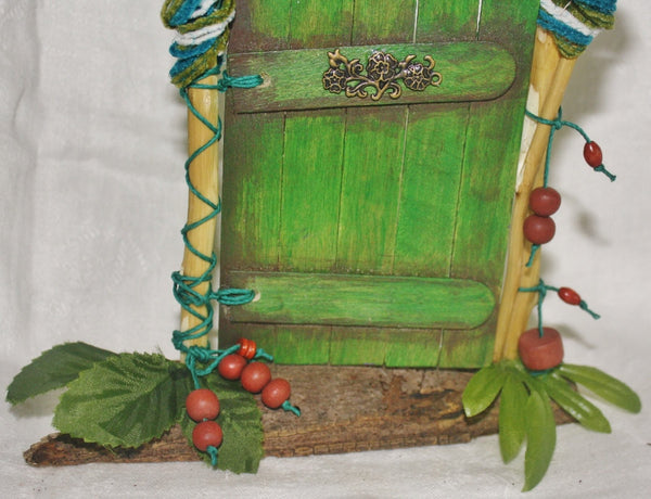 Green Nature Fairy Door - Meditation Aid - Heather's Mystical Haven - 2