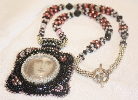 Victorian Goddess Necklace - Heather's Mystical Haven - 1