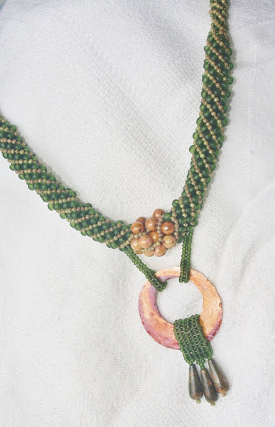 Transitions Necklace with Copper and Rhyolite - Heather's Mystical Haven - 6