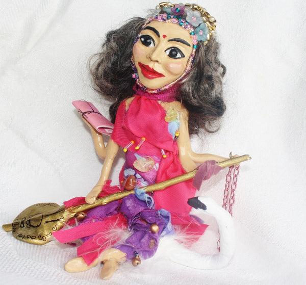 Saraswait Spirit Doll - Heather's Mystical Haven - 1