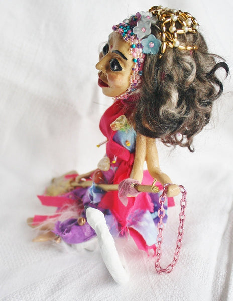 Saraswait Spirit Doll - Heather's Mystical Haven - 4