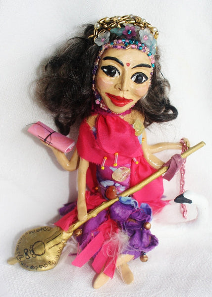 Saraswait Spirit Doll - Heather's Mystical Haven - 2