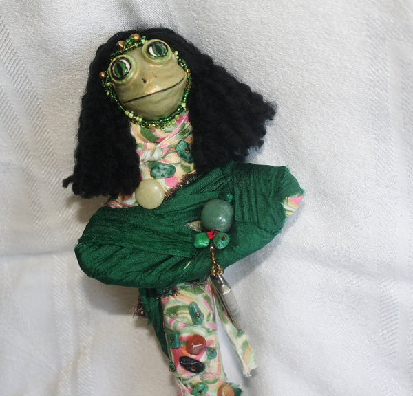 Heqet Spirit Doll - Heather's Mystical Haven - 1