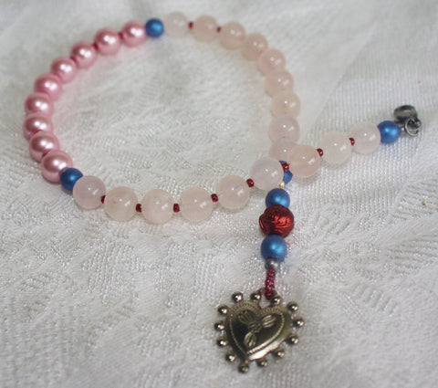 Sacred Heart Prayer Beads - Heather's Mystical Haven - 1