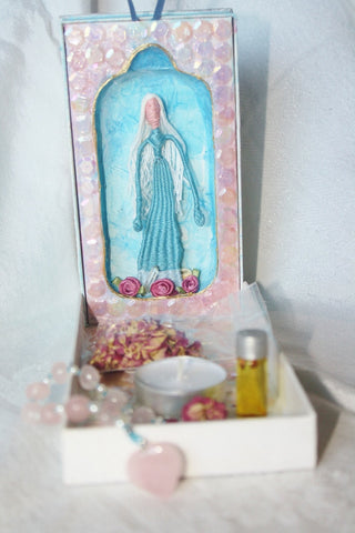 Mother Mary's Grotto Traveling Altar - Heather's Mystical Haven - 1
