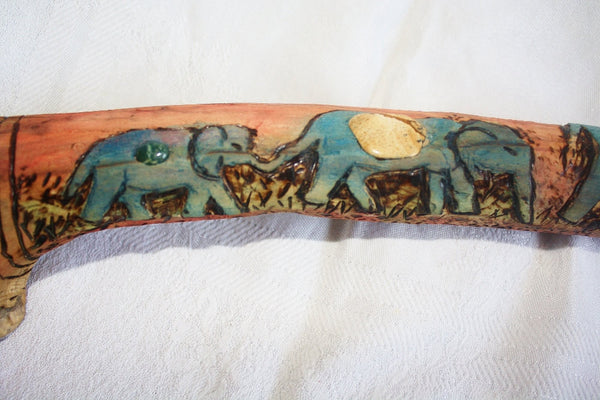 Elephant Driftwood Altar Decoration - Heather's Mystical Haven - 3