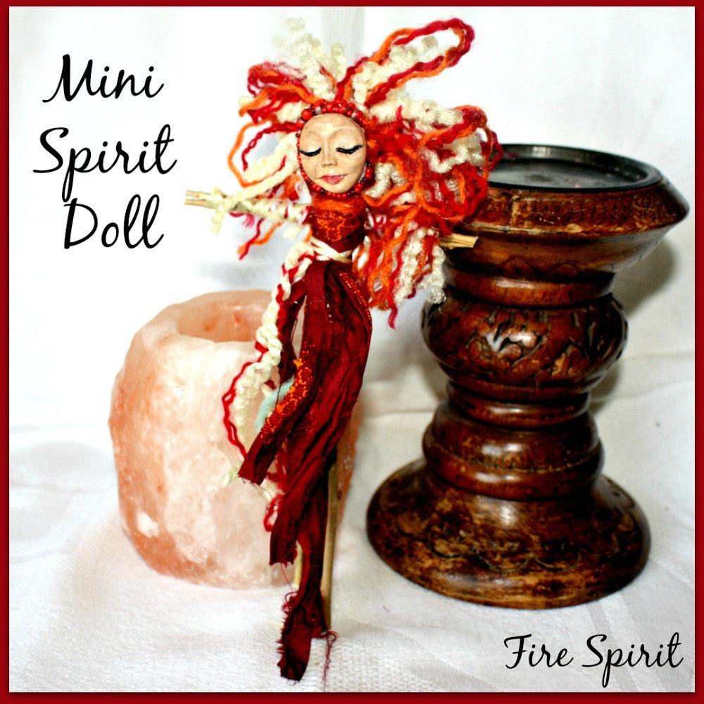 Mini Spirit Doll - Fire