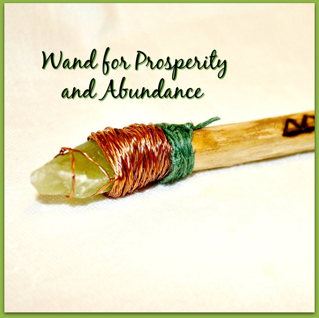 Abundance Energy Wand - Heather's Mystical Haven - 1
