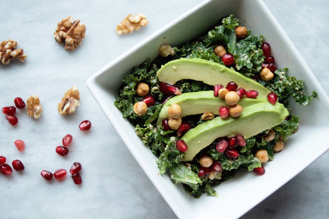 Festive Kale Power Salad