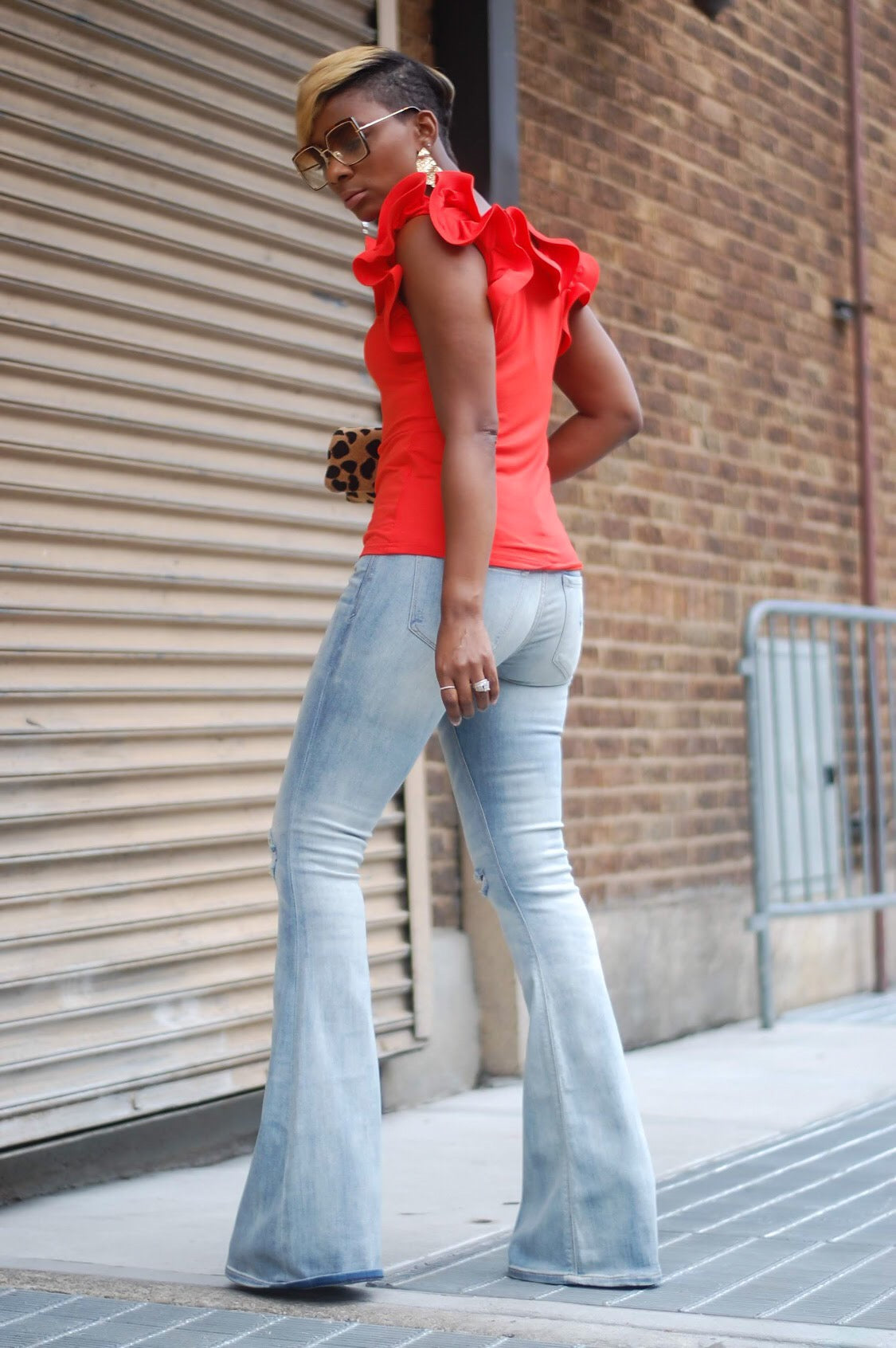 Bright Ruffle Top (More Colors)