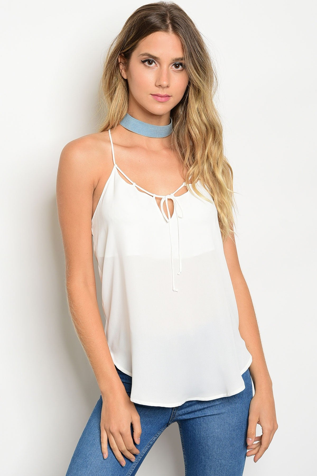 Off White Cami