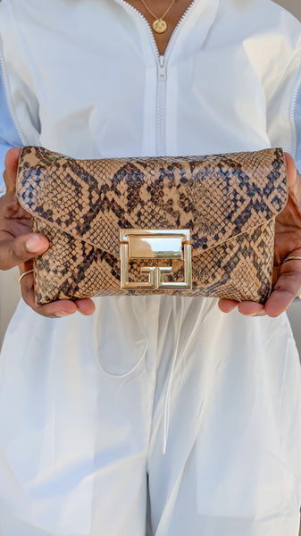 """Snakeprint"" Belt Bag"