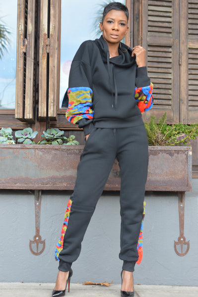 """Colored Camo"" Jogger Set (Limited Stock)"