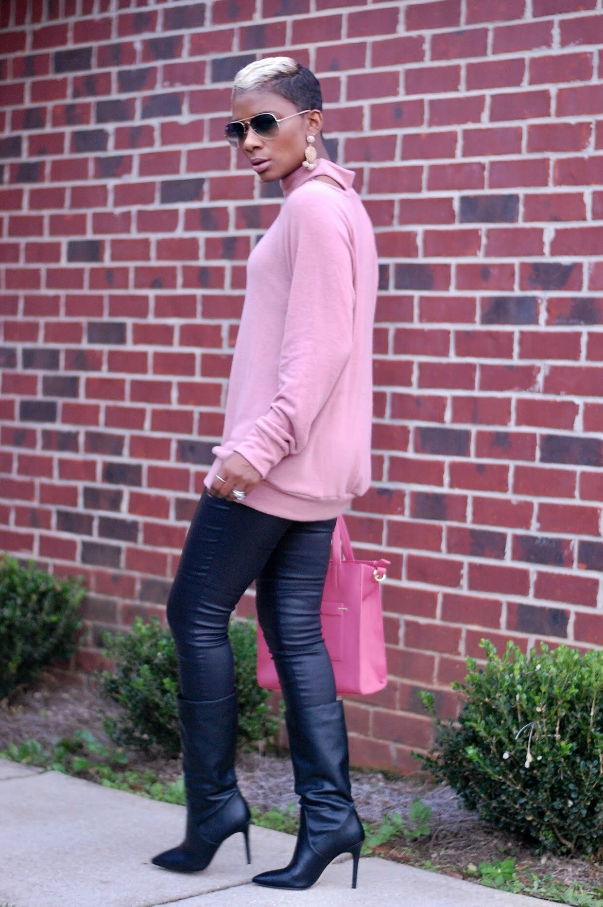 Blush Pink Sweatshirt
