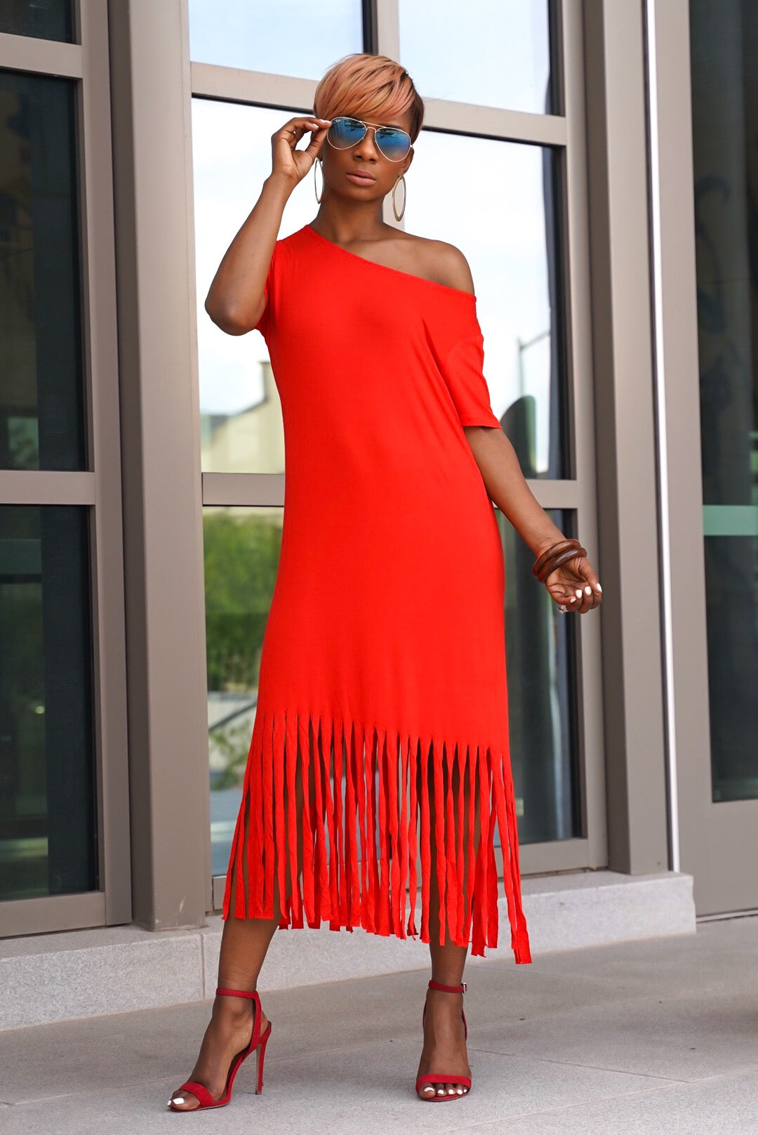 Miss Fringe Dress