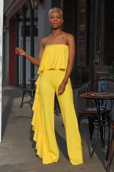 """Golden Goddess"" Jumpsuit"