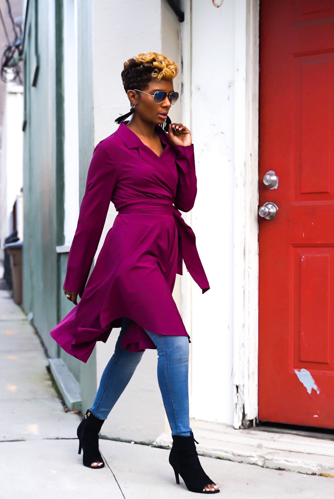 Rosewood Wrap Dress