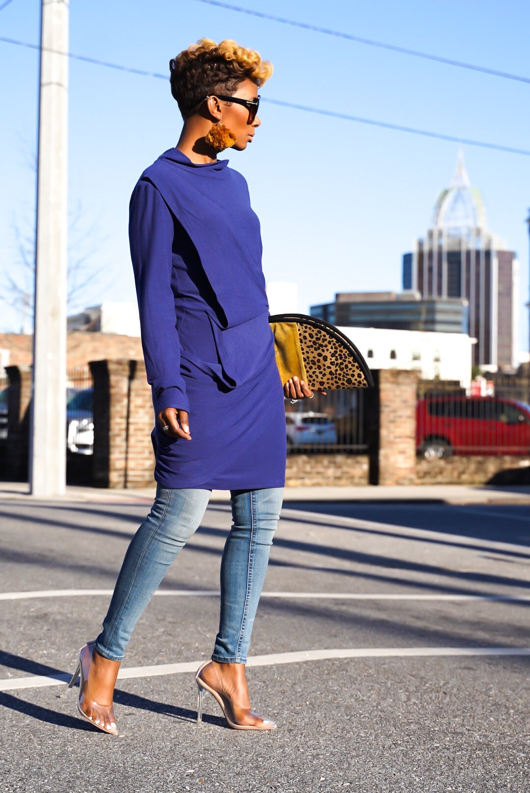 """To the Limit"" Shirtdress"