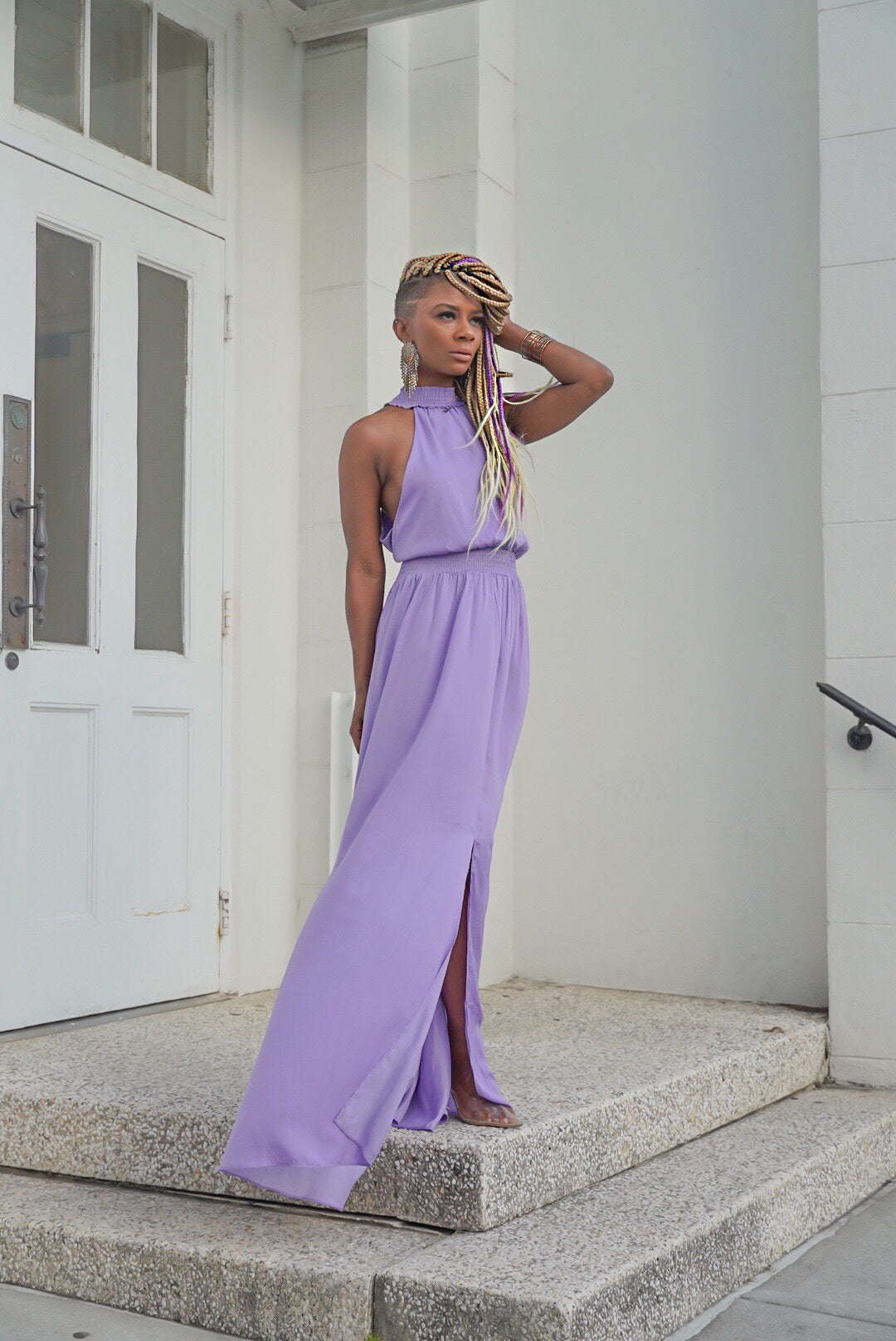 """Sweet Orchid"" Maxi"