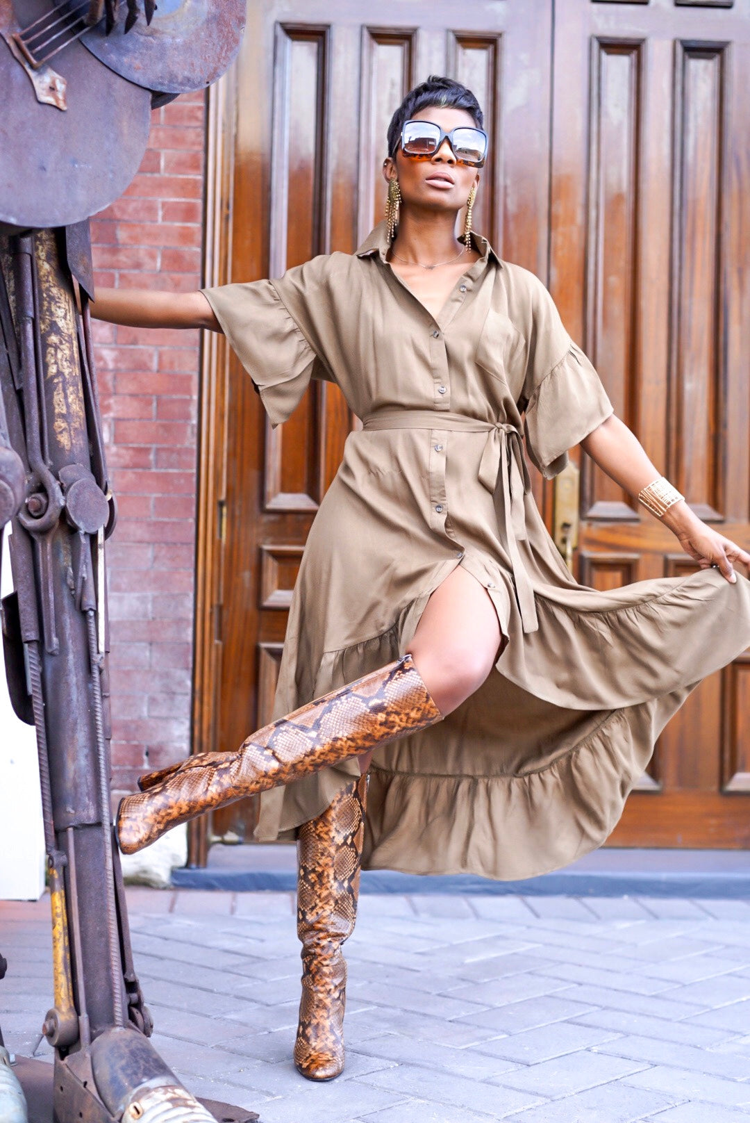 """Fallin' for Olive"" Dress"