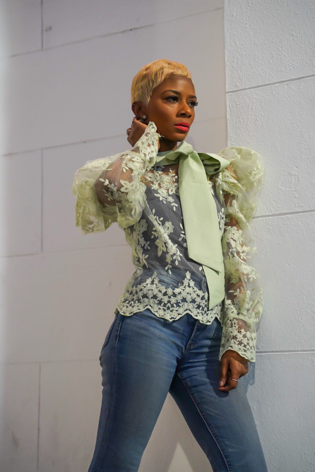 """Layla"" Lace Blouse"