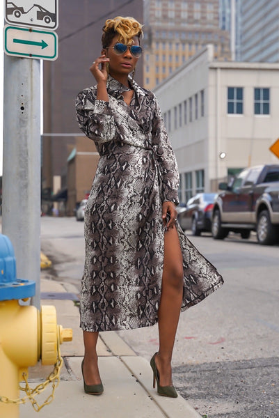 """Wild One"" Wrap Dress (Limited Quantities)"