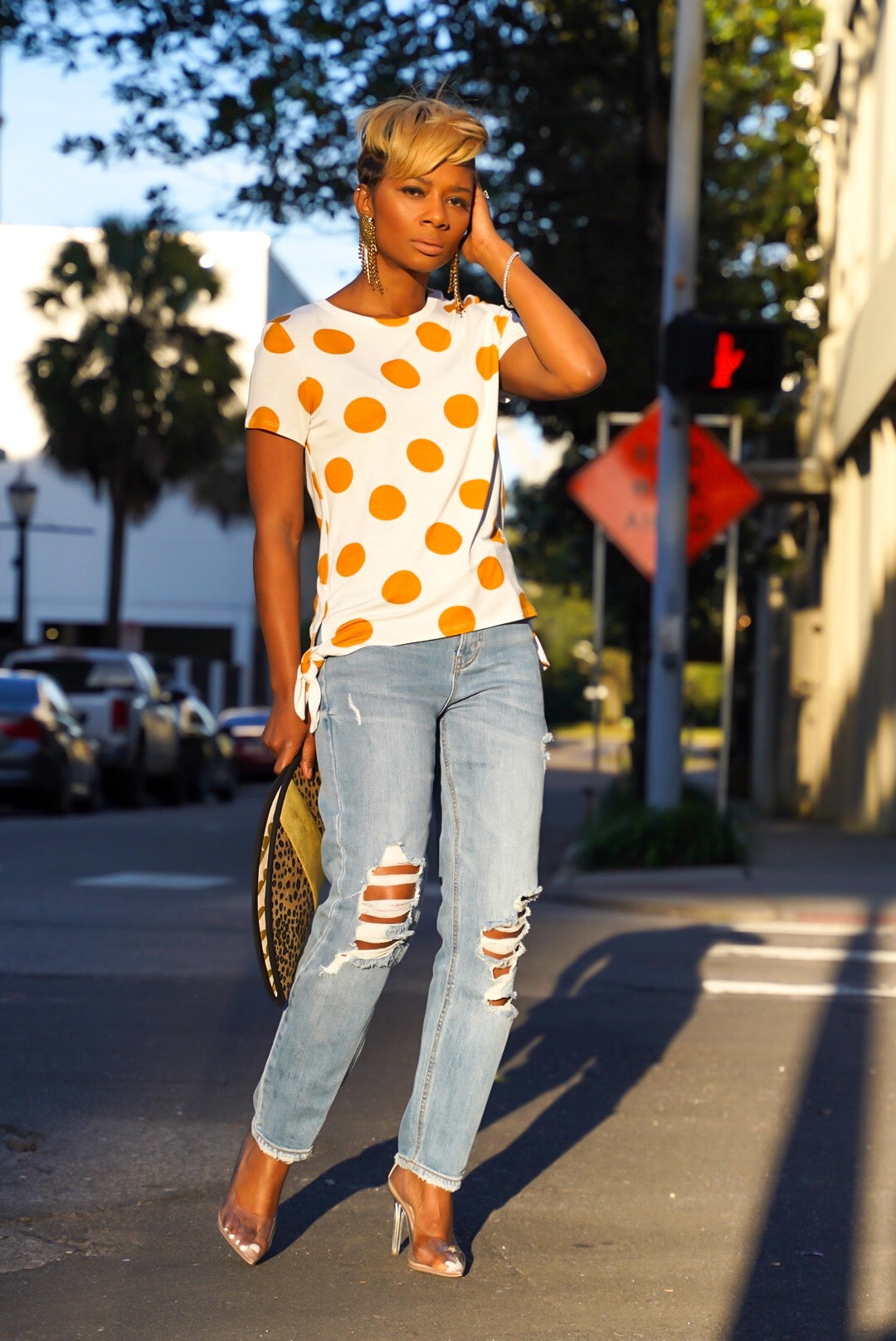 Polka Dot Tee (More Colors)
