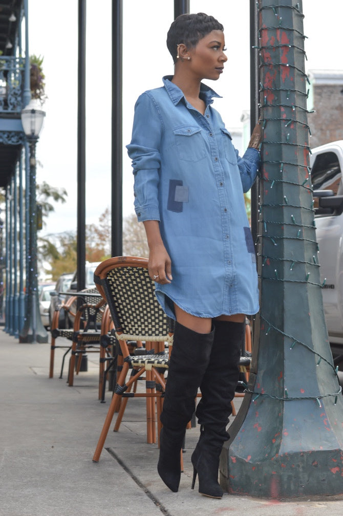 """Denim Fun"" Midi"