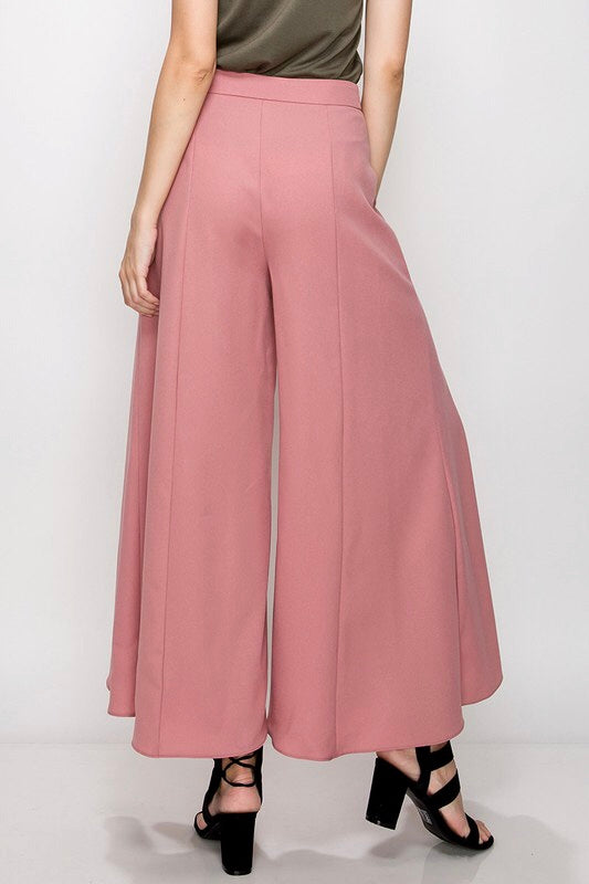 Dark Rose Ankle Pant