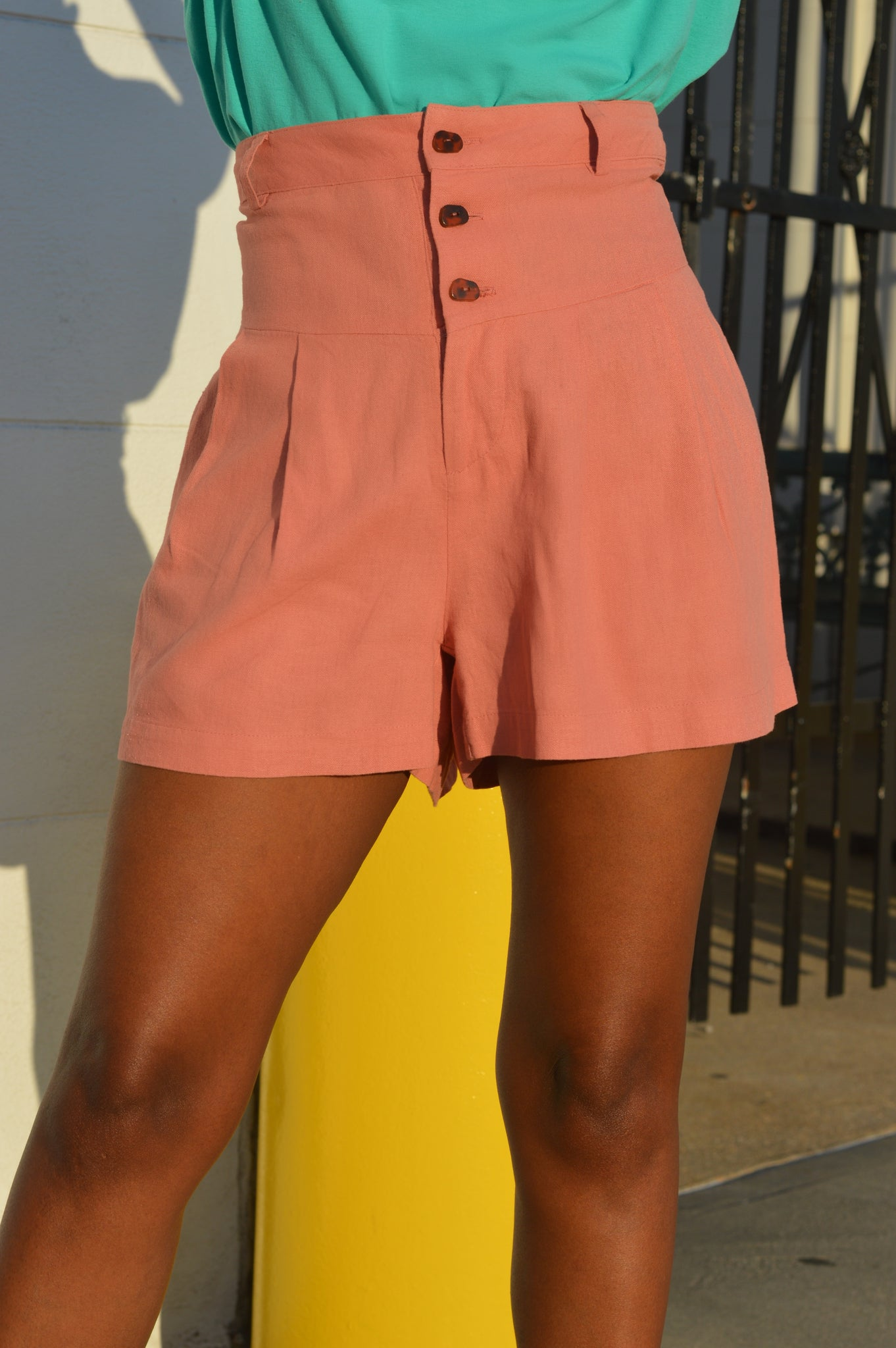 """Mauve'lous Breeze"" Shorts"