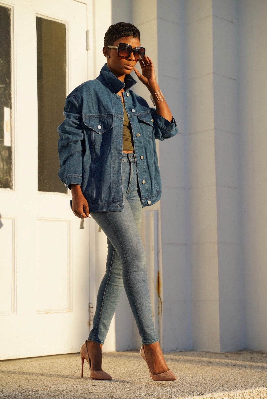 """Crossed Up"" Denim"