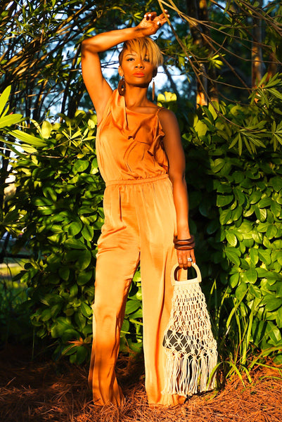 Golden Rust Jumpsuit