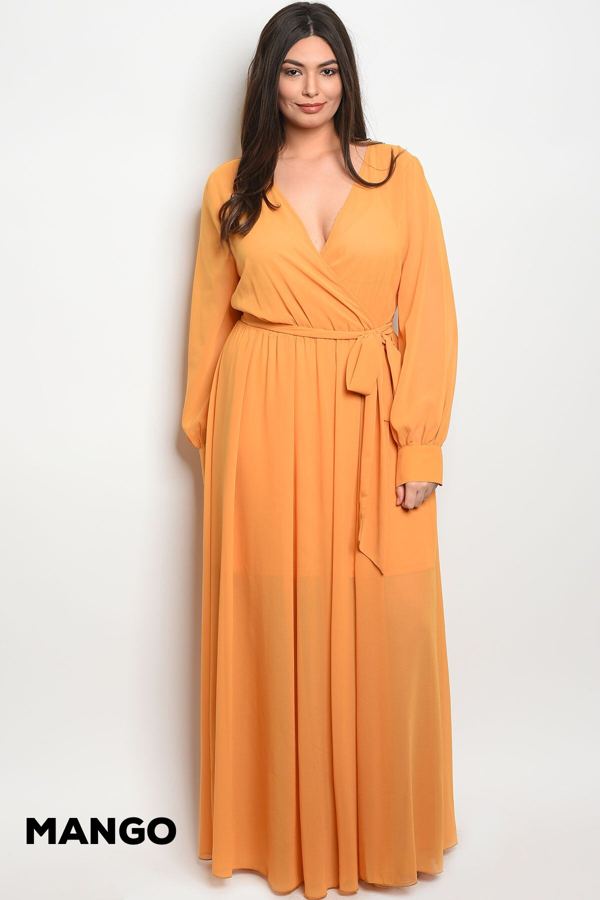 Sheer Maxi (Available in Curvy)