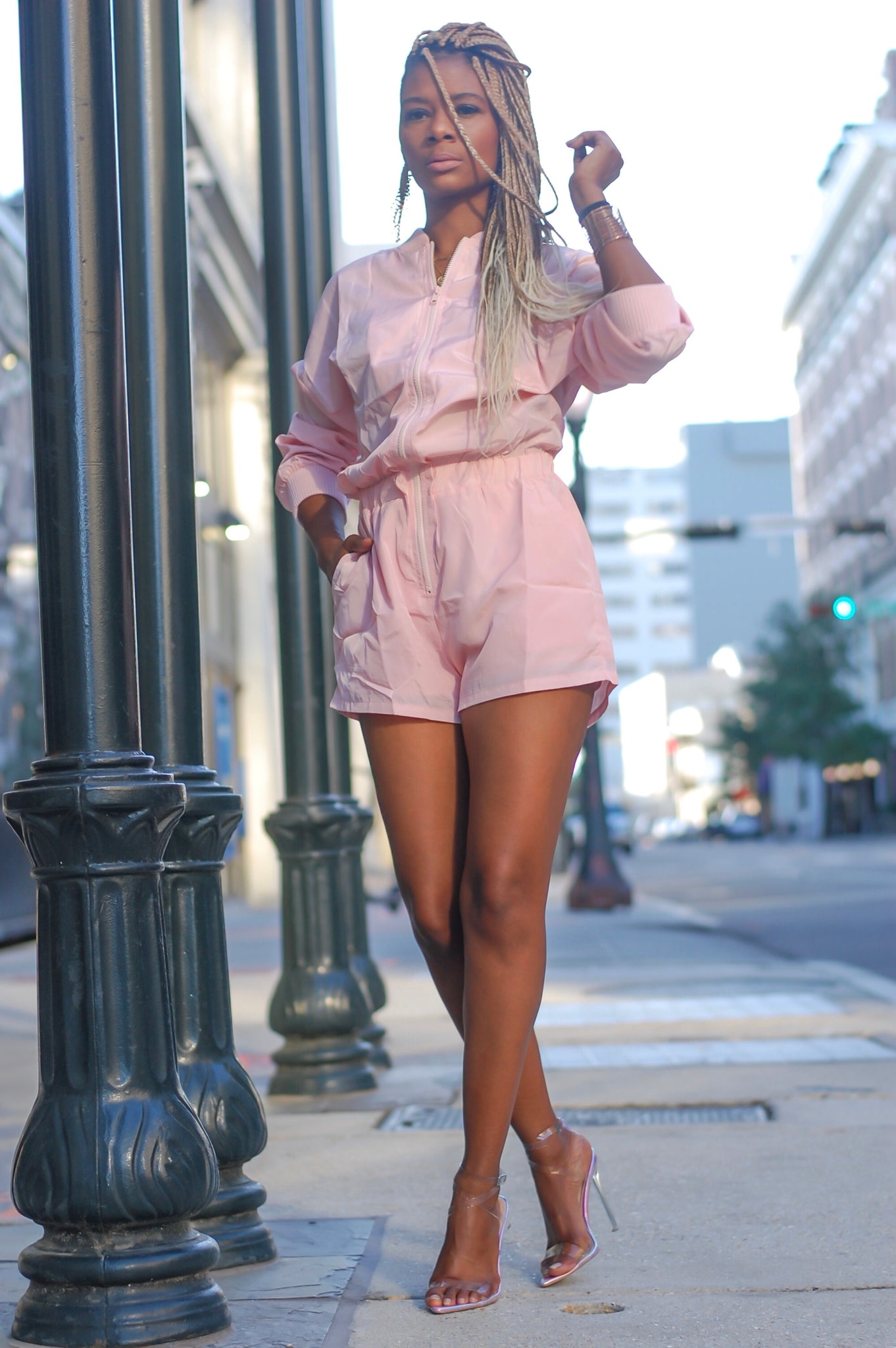 """Think Pink"" Romper (Limited Stock)"