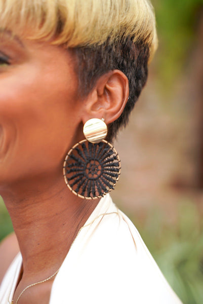 """Bet on Net"" Earring"
