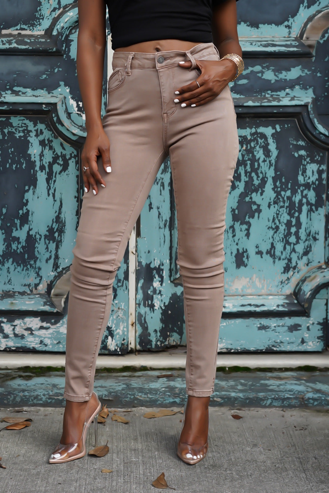 """Amber Brown"" Denim"