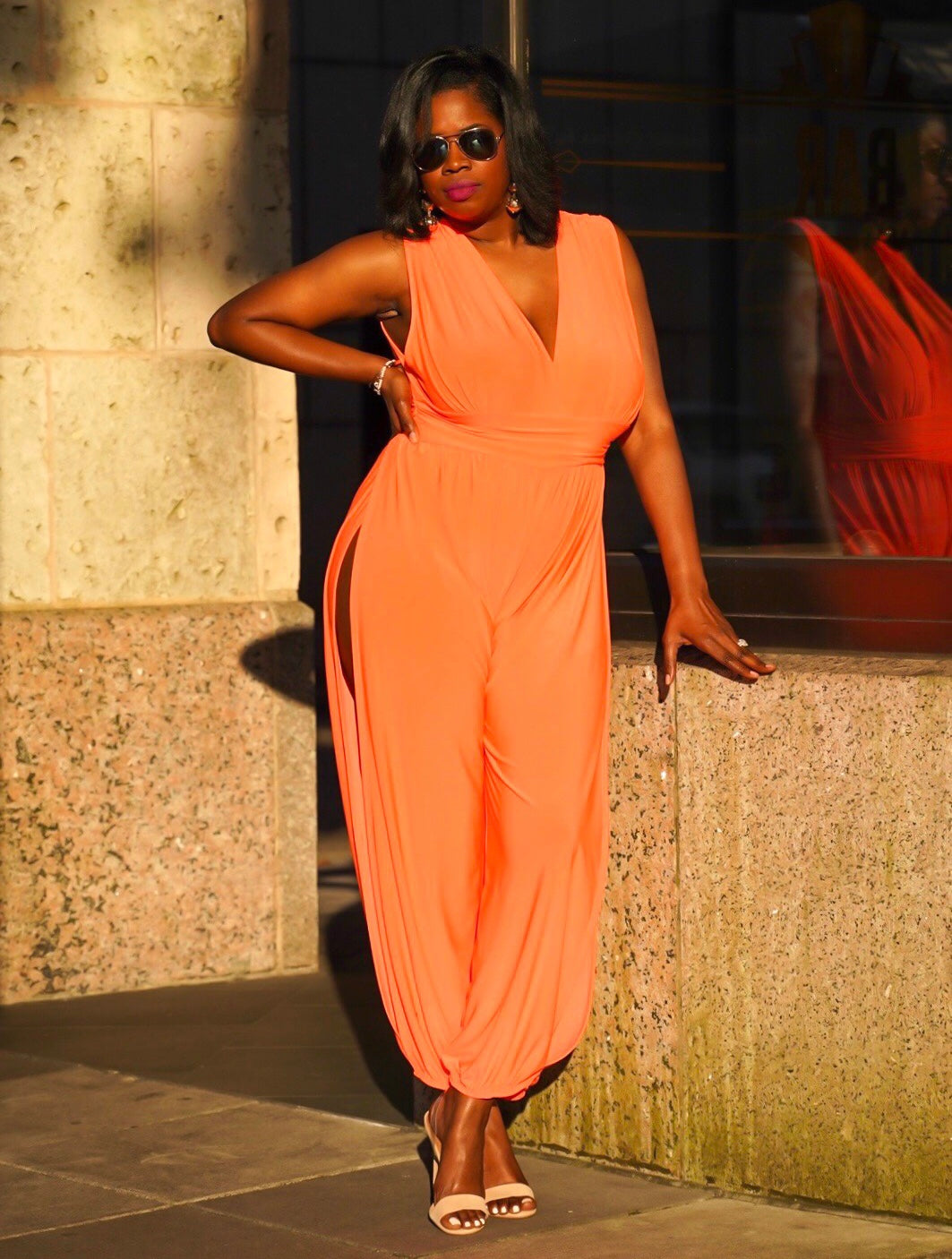 Curvy Luxe Jumpsuit