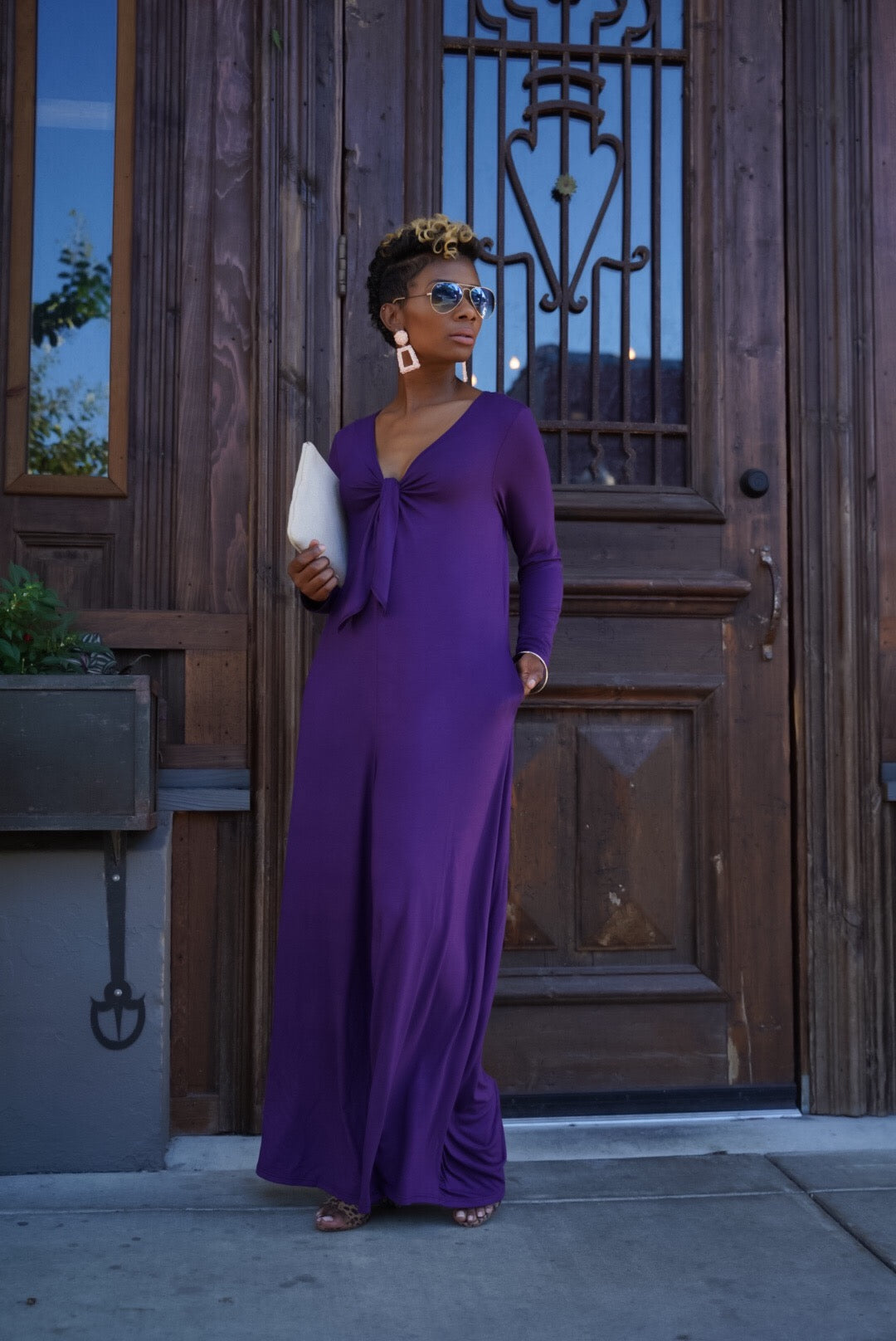 Royal Purple Jumpsuit