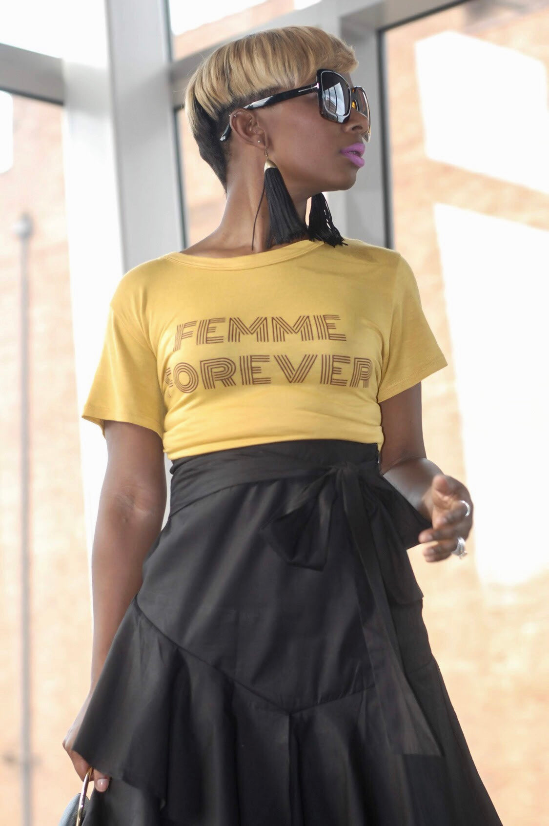 """Femininity"" Tee (Available in Curvy)"