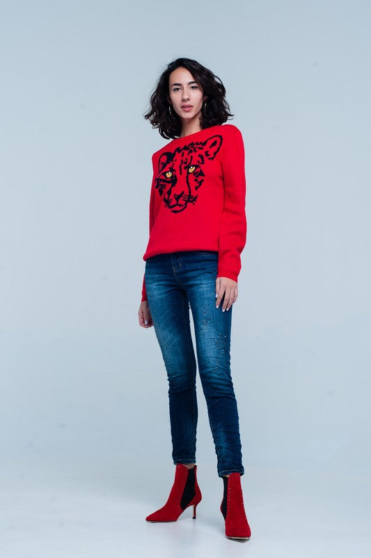 """Eye of the Tiger"" Sweater"