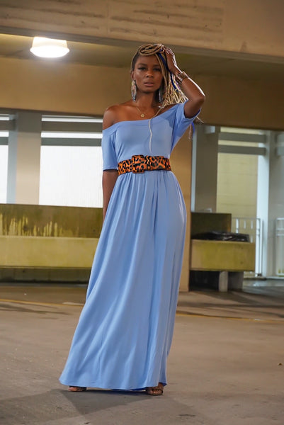 """Ice Blue"" Maxi (Limited Stock)"