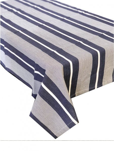 Finley Navy Tablecloth 150x320cm