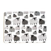Fluffy Sheep Placemats Set 4