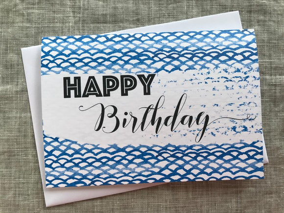 Happy Birthday Card Lrg