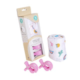 Muslin & 2 Pram Peg Box Set Alpaca