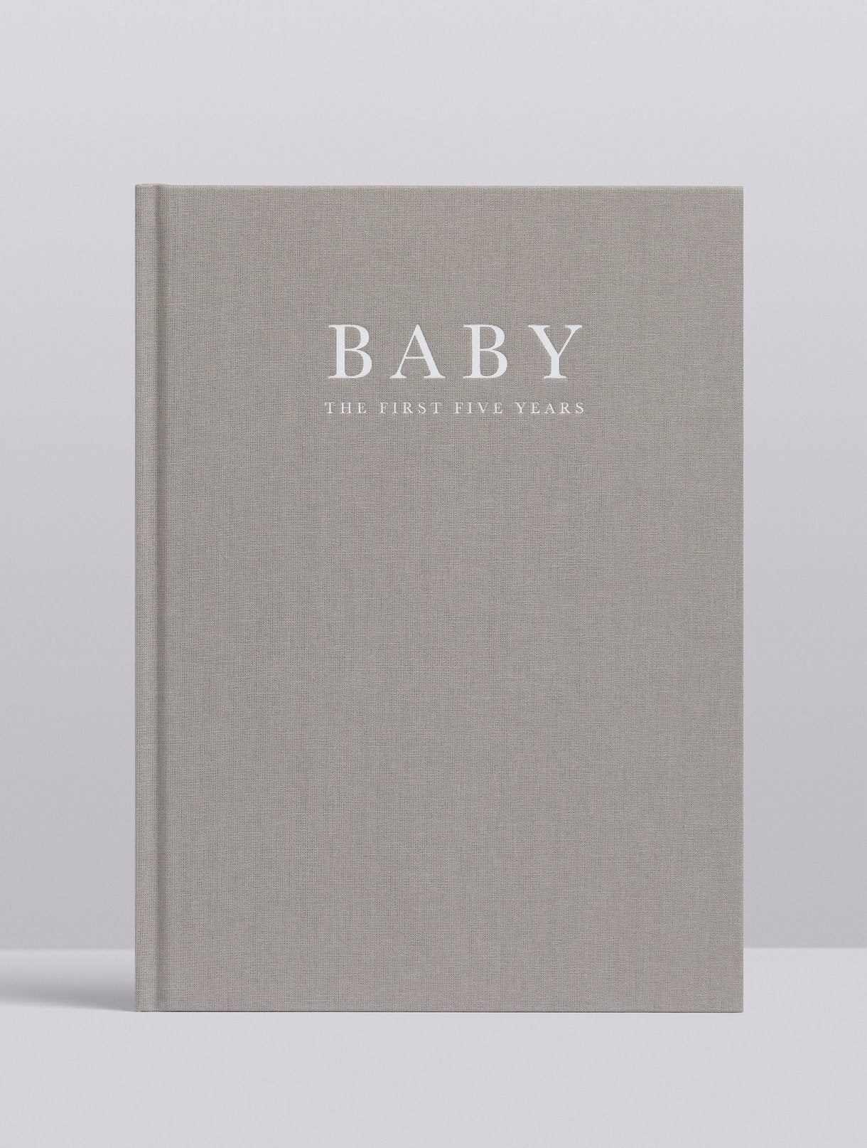 Birth to Five Years Book Grey