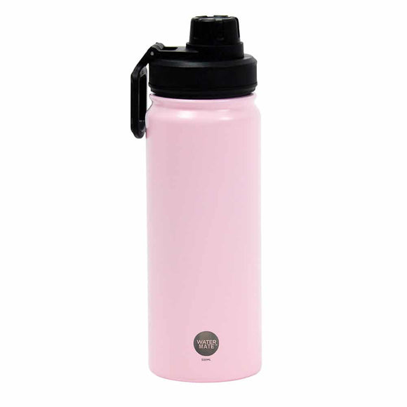 Watermate 550ml Stainless Steel - P Pink