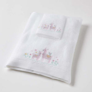 Llama Bath Towel & Washer Set