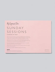 Sunday Sessions Planing Week A4