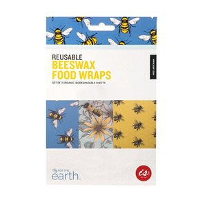 Resuable Beeswax Food Wraps 3pk